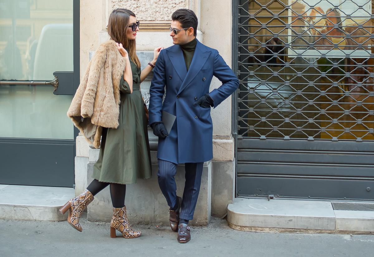Carlotta Rubaltelli & Frank Gallucci,17 Jan. 2016 Milano Men's Fashion Week, by Annika Lagerqvist, www.annikasomething.com-1-1