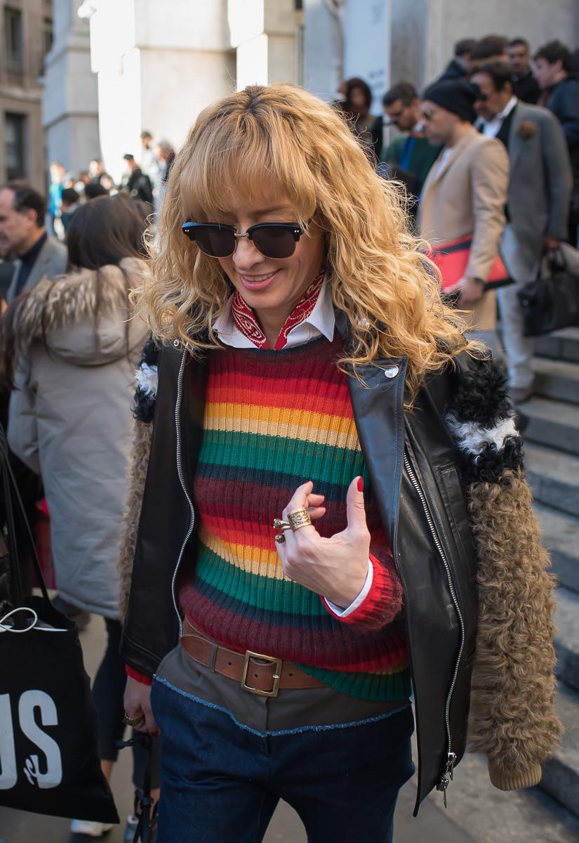 Elina Halimi,17 Jan. 2016 Milano Men's Fashion Week, by Annika Lagerqvist, www.annikasomething.com-1-1