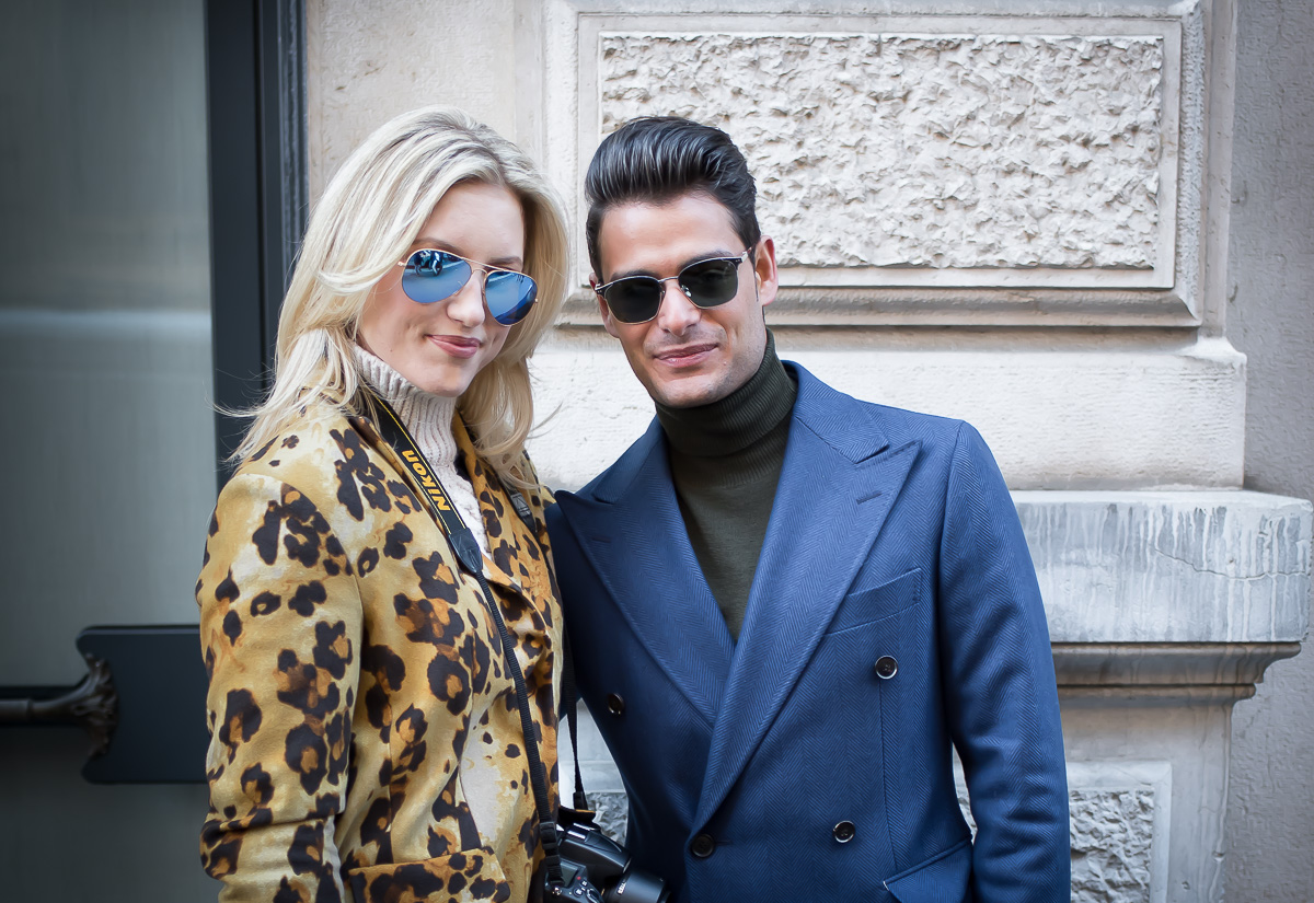 Malin Lagerqvist & Frank Gallucci,17 Jan. 2016 Milano Men's Fashion Week, by Annika Lagerqvist, www.annikasomething.com-1-1-2
