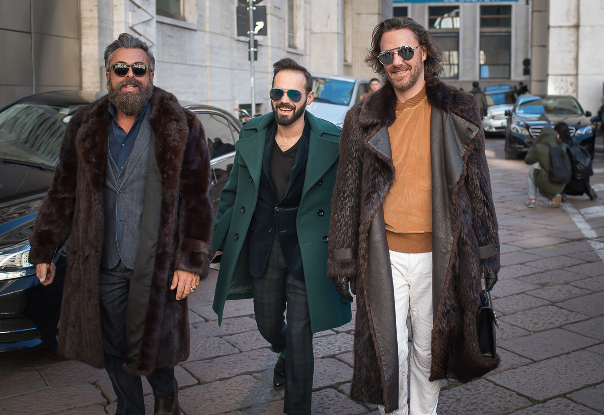 Ouside Salvatore Ferragamo,17 Jan. 2016 Milano Men's Fashion Week, by Annika Lagerqvist, www.annikasomething.com-1-1