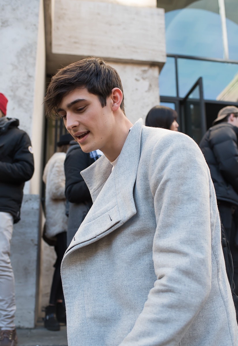 Rhys Pickering outside Salvatore Ferragamo Show,17 Jan. 2016 Milano Men's Fashion Week, by Annika Lagerqvist, www.annikasomething.com-1-1