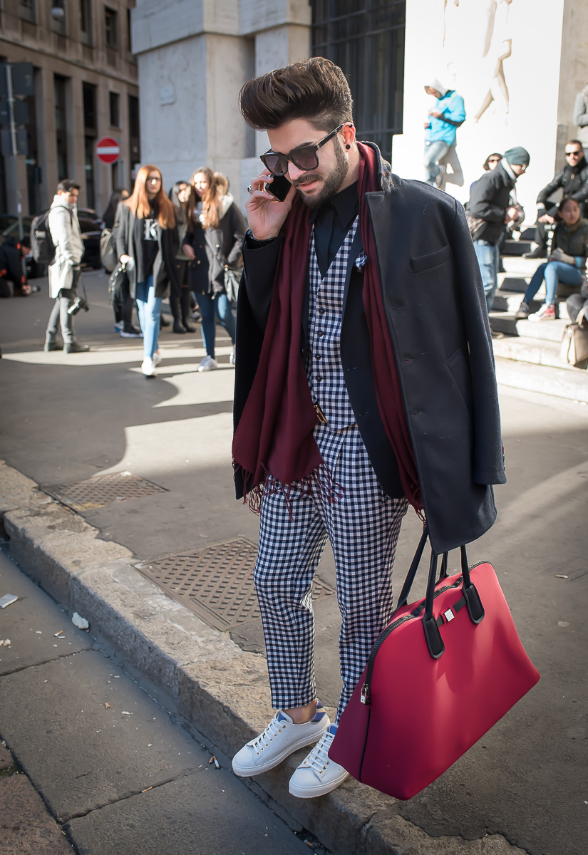 Street Style outside Salvatore Ferragamo Show,17 Jan. 2016 Milano Men's Fashion Week, by Annika Lagerqvist, www.annikasomething.com-1-2