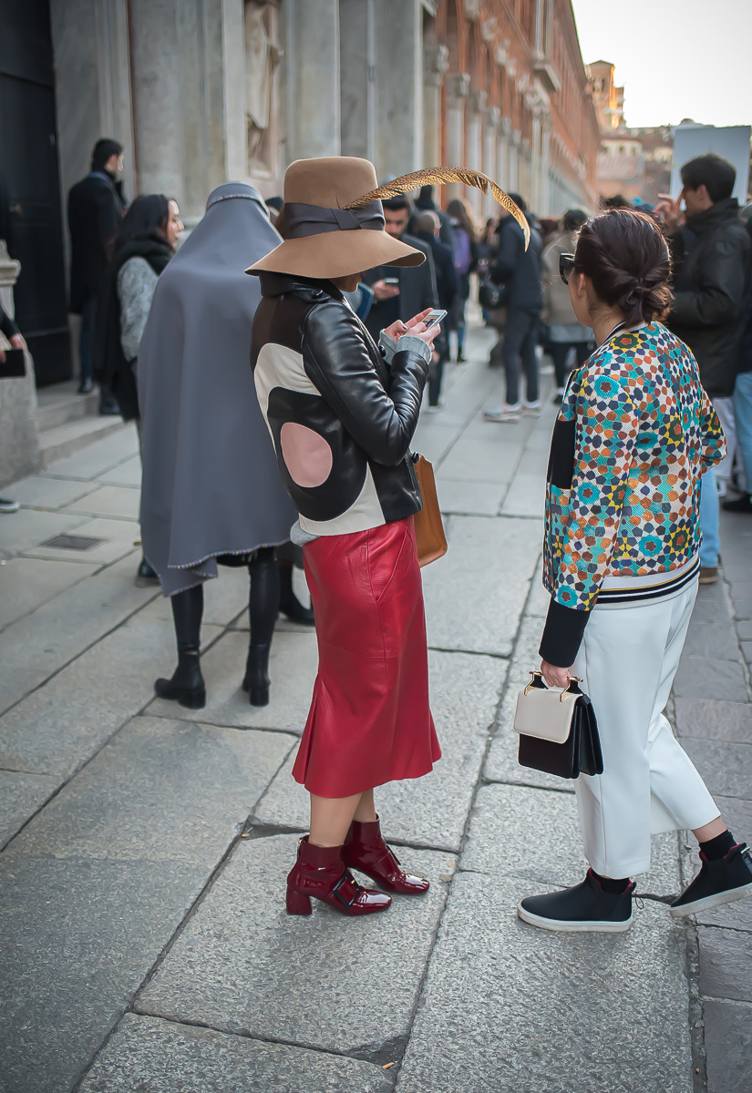 Street Style,17 January 2016 Milan Men's Fashion Week-1-2