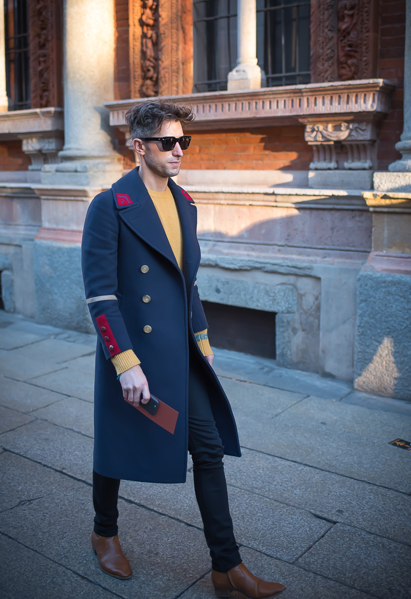 Street Style,17 January 2016 Milan Men's Fashion Week-1