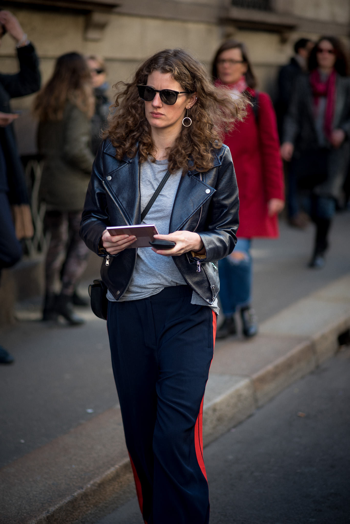 Street Style Moments_Trussardi_Milan Fashion Week_February 26th 2017_Photography Annika Lagerqvist_www.annikasomething.com
