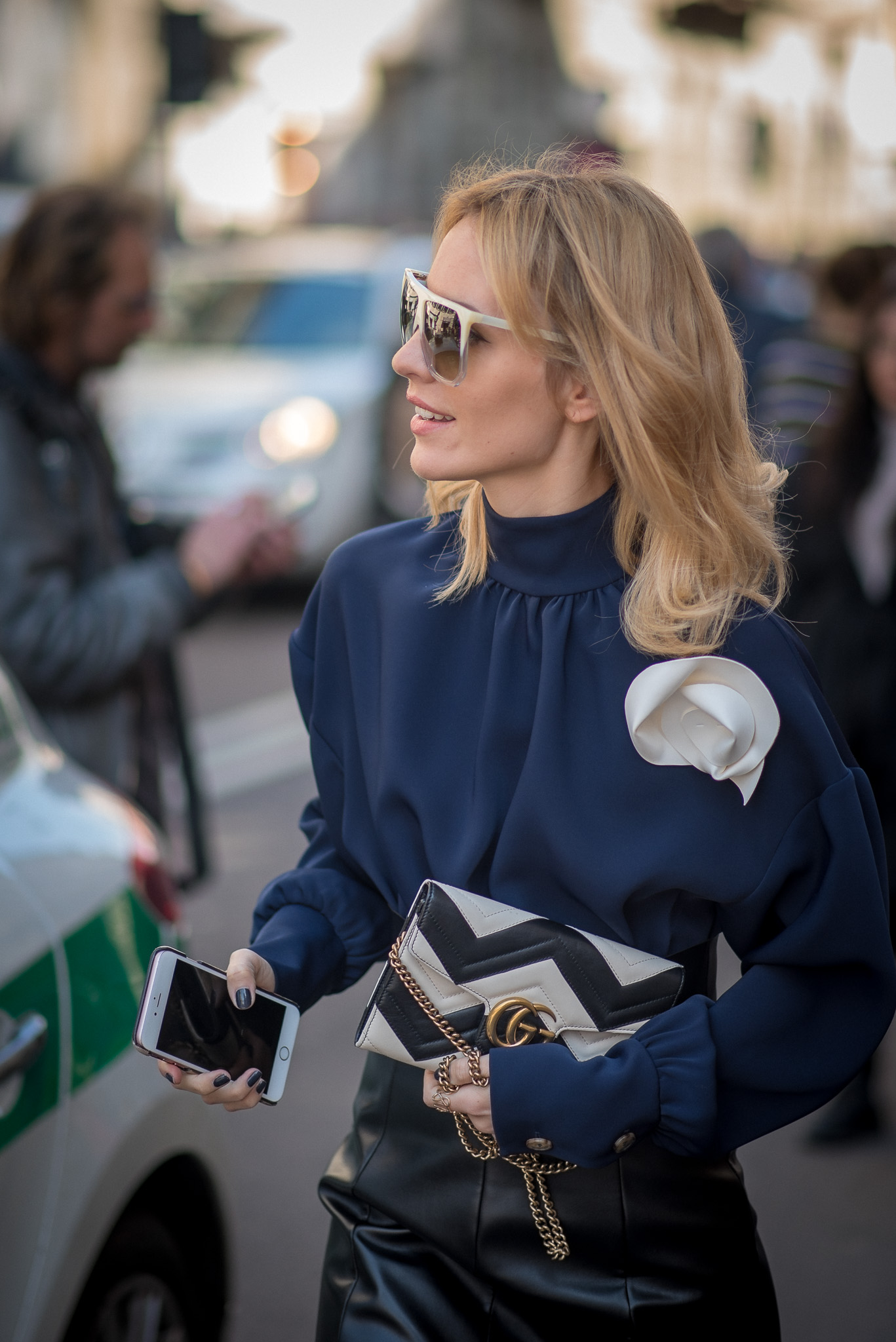 Viktoria Rader_Street Style Moments_Trussardi_Milan Fashion Week_February 26th 2017_Photography Annika Lagerqvist_www.annikasomething.com