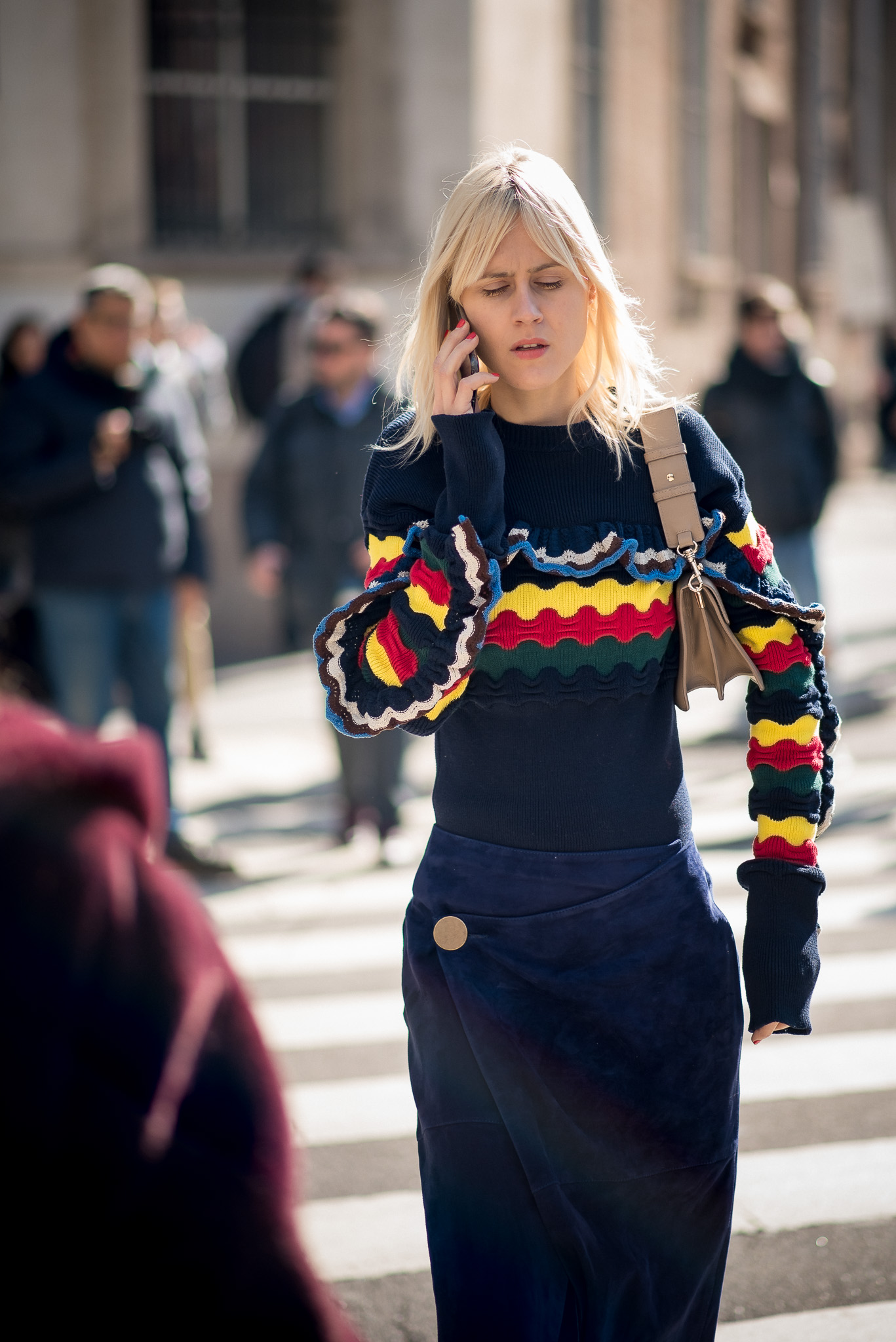 Linda Tol_Street Style Moments_Trussardi_Milan Fashion Week_February 26th 2017_Photography Annika Lagerqvist_www.annikasomething.com