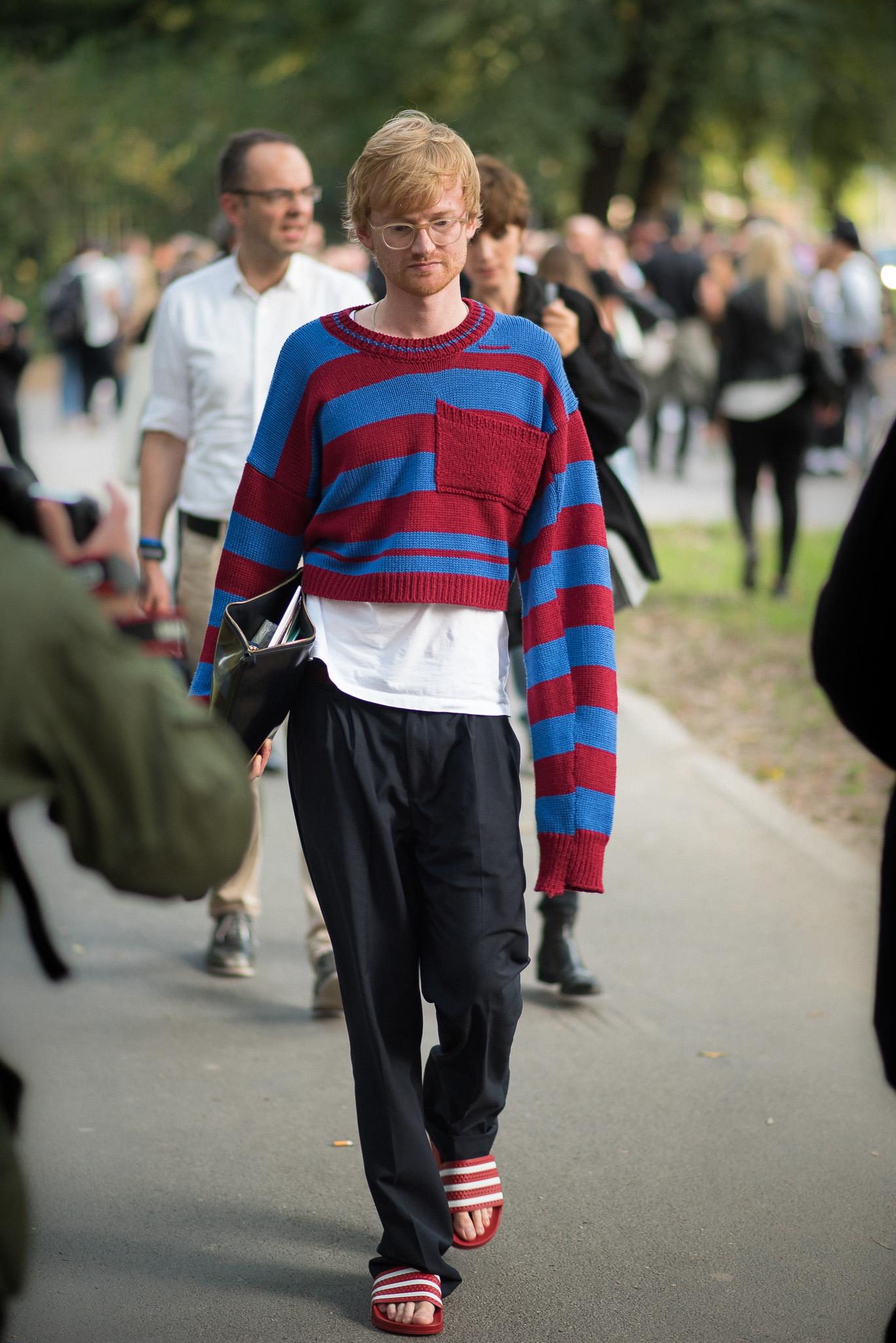 Dennis Braatz Versace MFW September 2017 Photography Annika Lagerqvist www.annikasomething.com