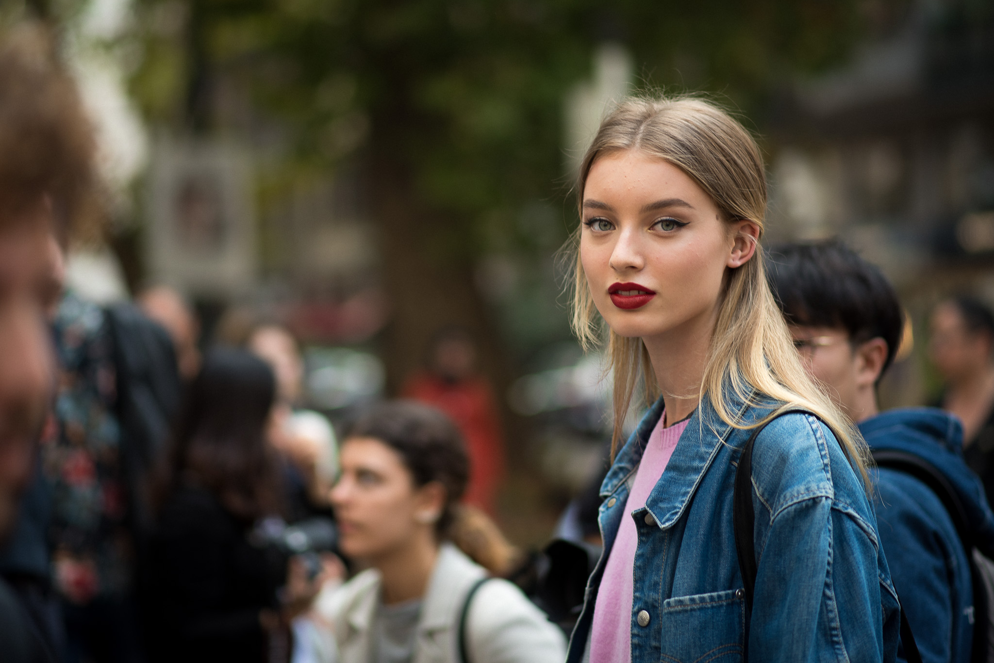 Giulia Maenza Models Off Duty Dolce & Gabbana Milan Fashion Week September 2017 Photography Annika Lagerqvist www.annikasomething.com