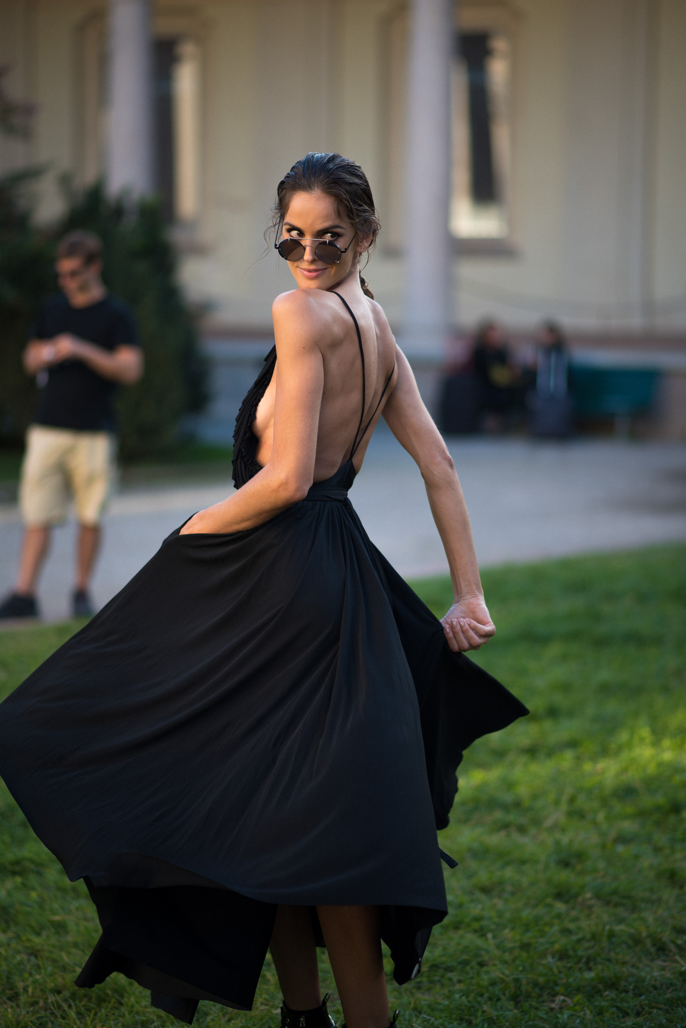 Izabel Goulart Models Off Duty Gucci Milan Fashion Week September 2017 Photography Annika Lagerqvist www.annikasomething.com