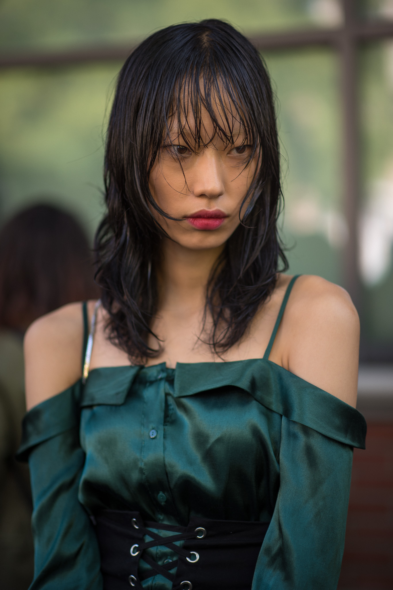 Sora Choi Models Off Duty Fendi Milan Fashion Week September 2017 Photography Annika Lagerqvist www.annikasomething.com