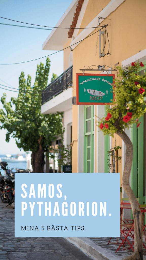 Samos Pythagorion Grekland Bästa Tips