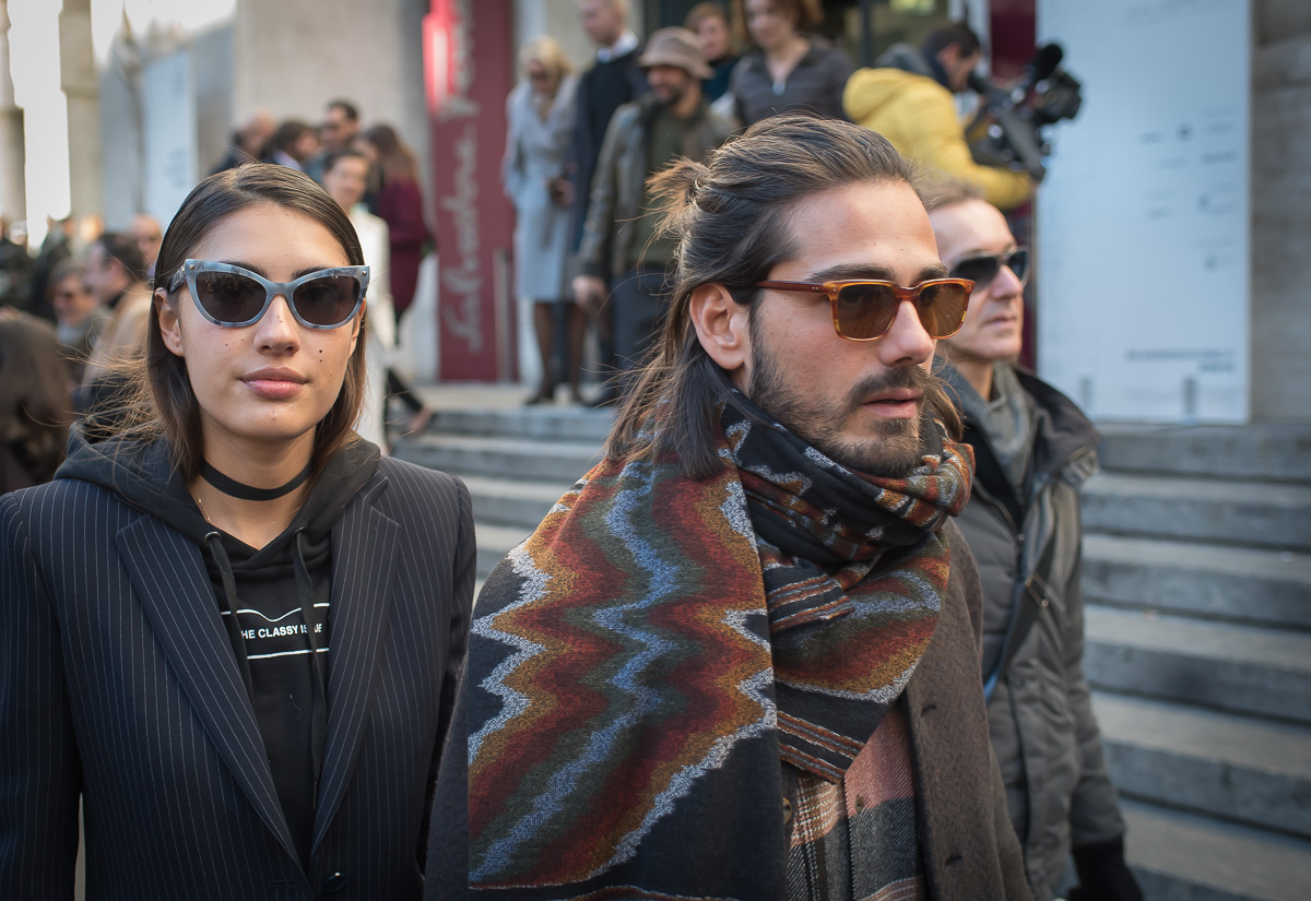 Patricia Manfield & Giotto Calendoli,17 Jan. 2016 Milano Men's Fashion Week, by Annika Lagerqvist, www.annikasomething.com-1-1