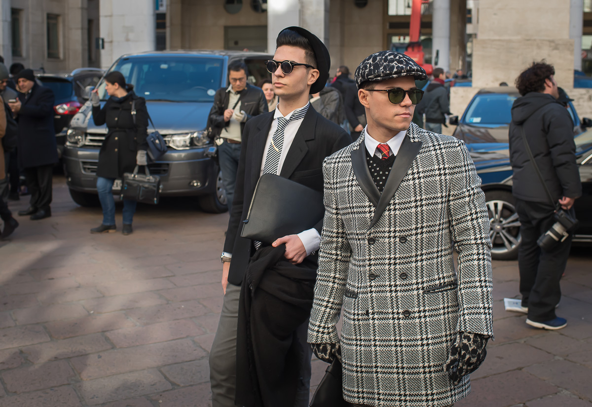 Street Style outside Salvatore Ferragamo Show,17 Jan. 2016 Milano Men's Fashion Week, by Annika Lagerqvist, www.annikasomething.com-1-4
