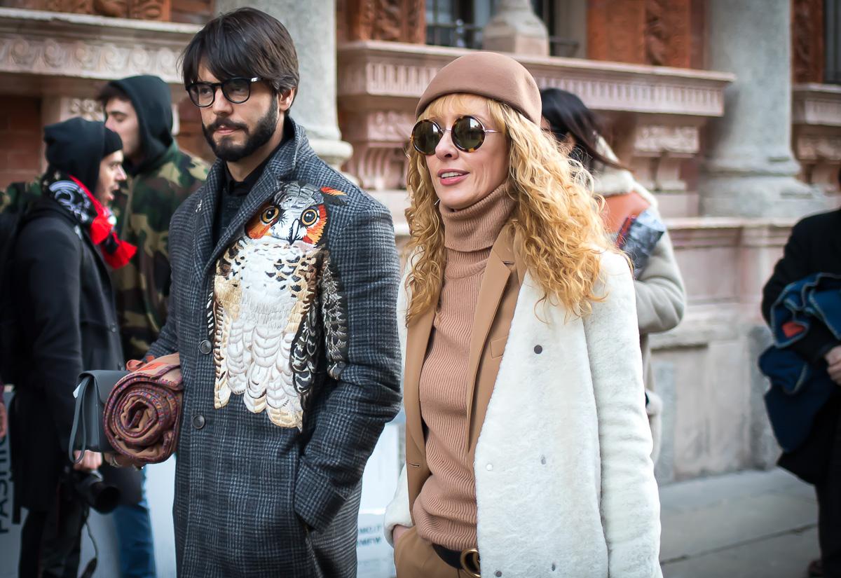 Elina Halimi,17 January 2016 Milan Men's Fashion Week-2