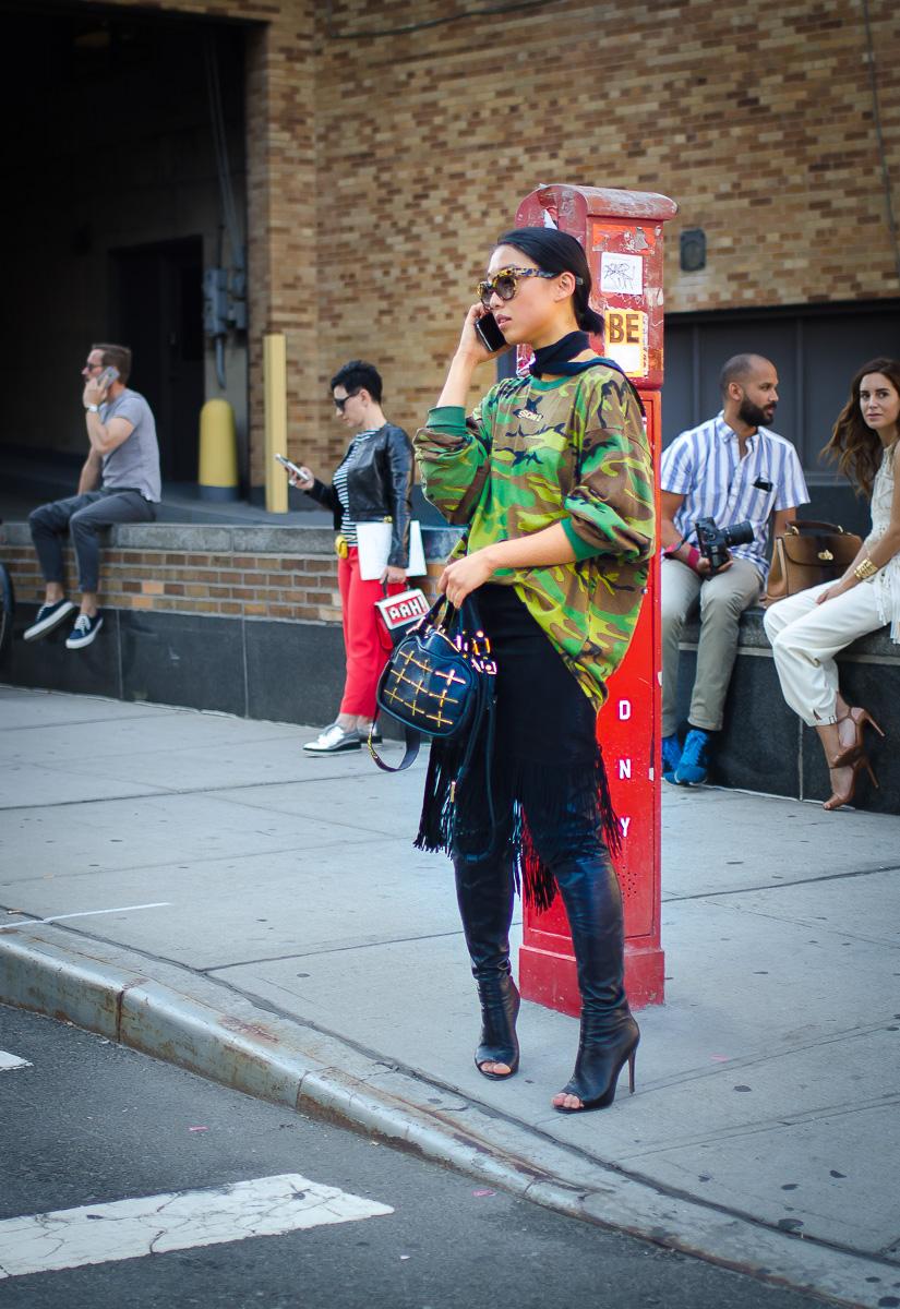 Margaret Zhang ,15 September 2015, NYFW-6