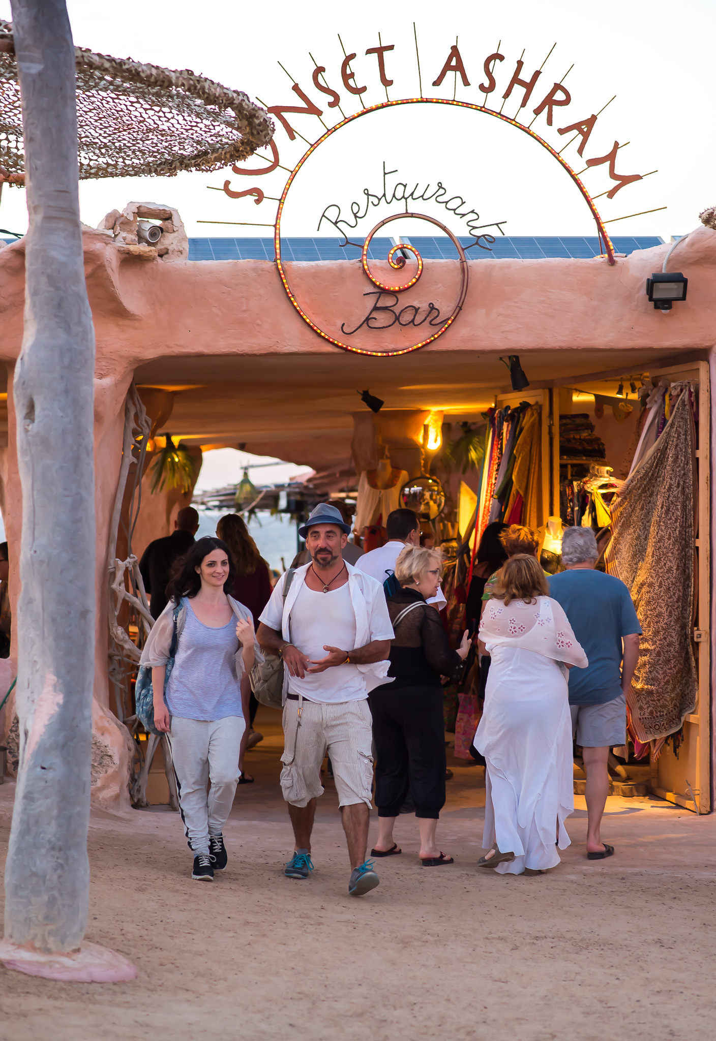 Ibiza, Sunset Ashram, Cala Conta, juni 2016-28