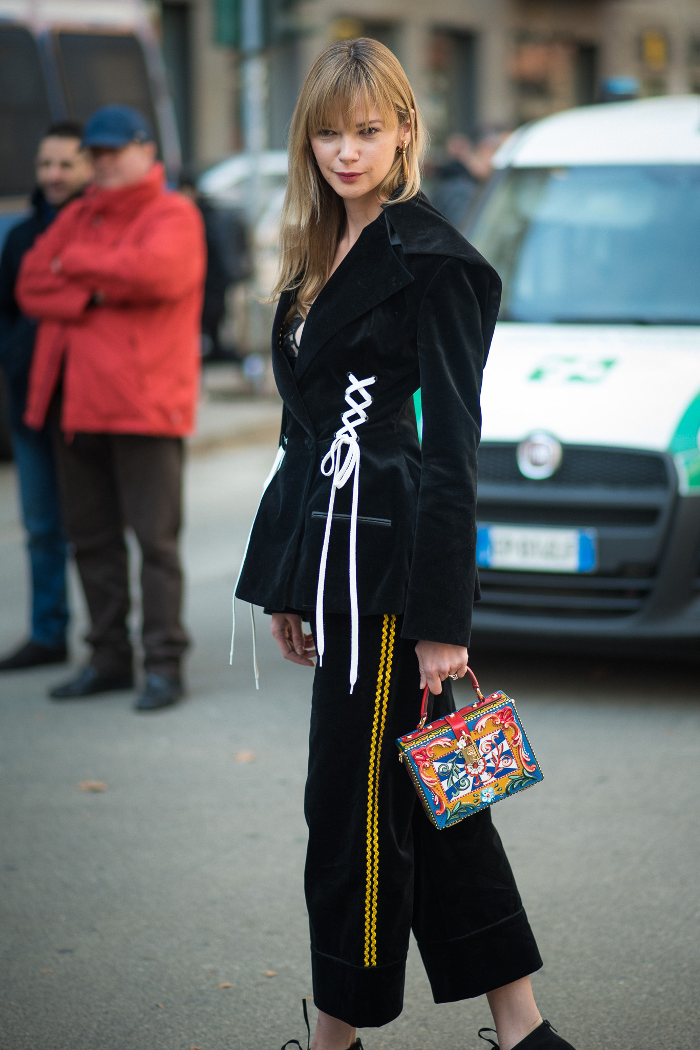 Anastasiia Masiutkina_Street Style_Dolce & Gabbana_Milan Fashion Week_February 26th 2017_Photography Annika Lagerqvist_www.annikasomething.com