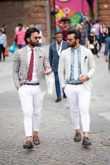 Andrea Carillo & Alessandro Carillo Pitti Uomo