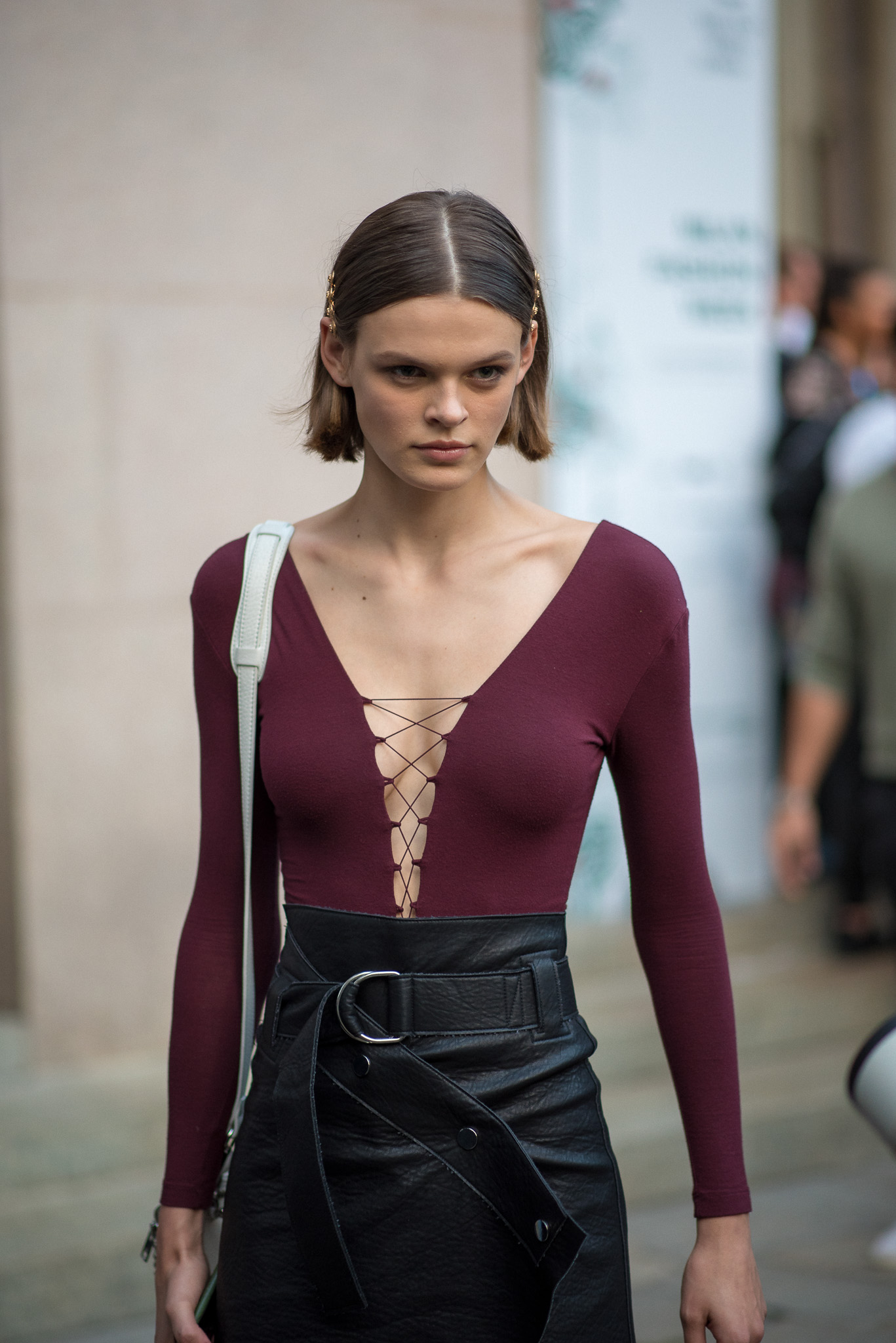 Cara Taylor Models Off Duty Versace Milan Fashion Week September 2017 Photography Annika Lagerqvist www.annikasomething.com