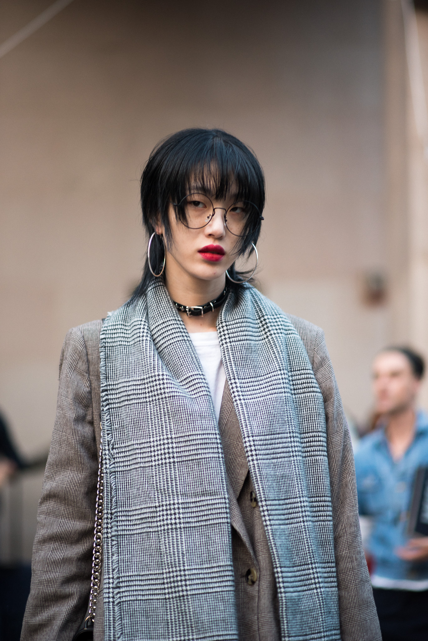 Sora Choi Models Off Duty Versace Milan Fashion Week September 2017 Photography Annika Lagerqvist www.annikasomething.com