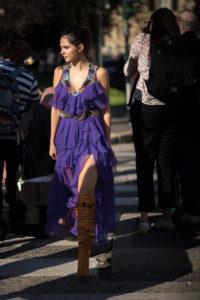 Doina Ciobanu Alberta Ferretti Milan Fashion Week September 2017 Photography Annika Lagerqvist www.annikasomething.com
