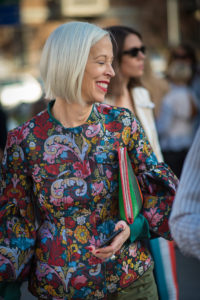 Linda Fargo Alberta Ferretti Milan Fashion Week September 2017 Photography Annika Lagerqvist www.annikasomething.com