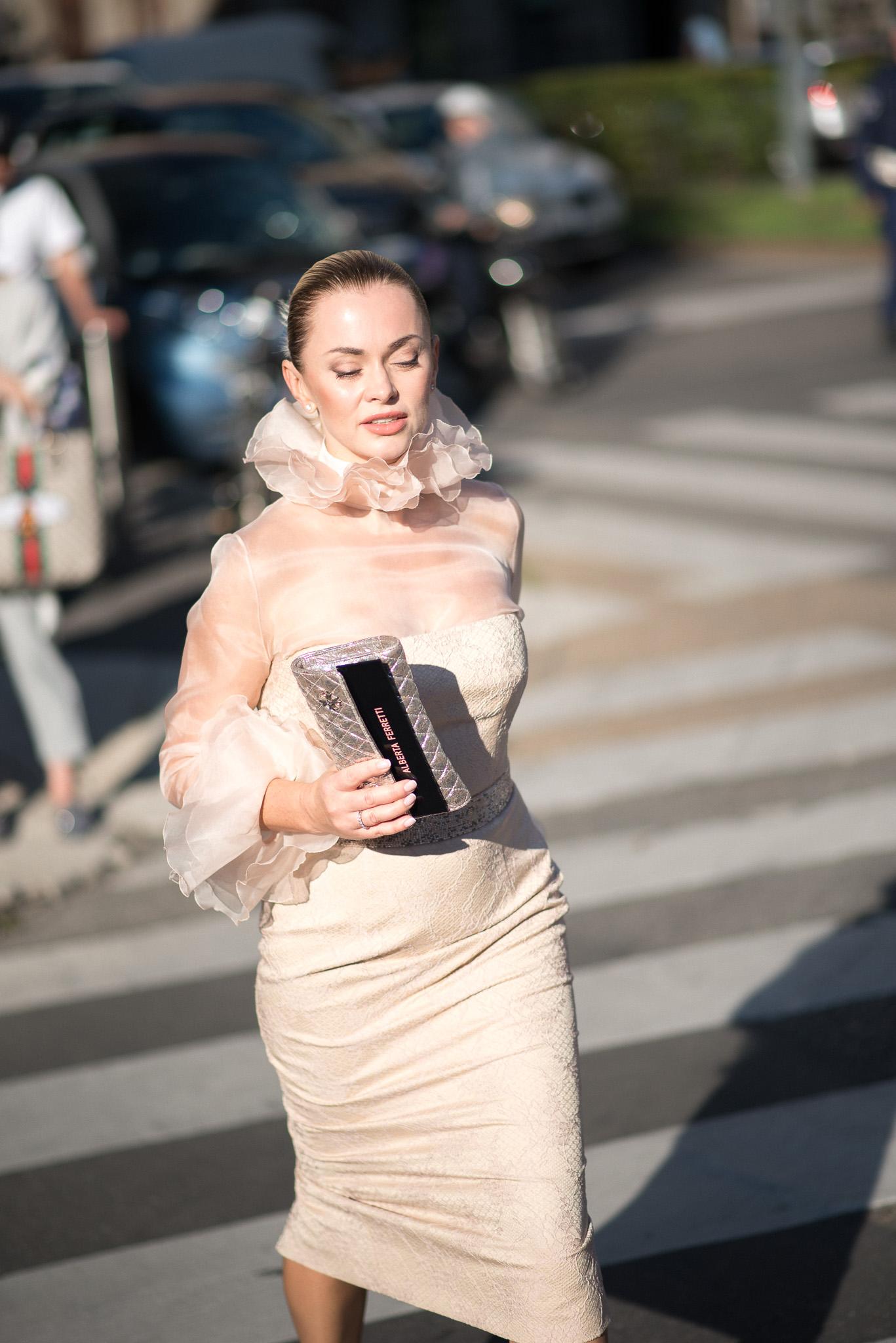 Larisa Kazak Alberta Ferretti Milan Fashion Week September 2017 Photography Annika Lagerqvist www.annikasomething.com