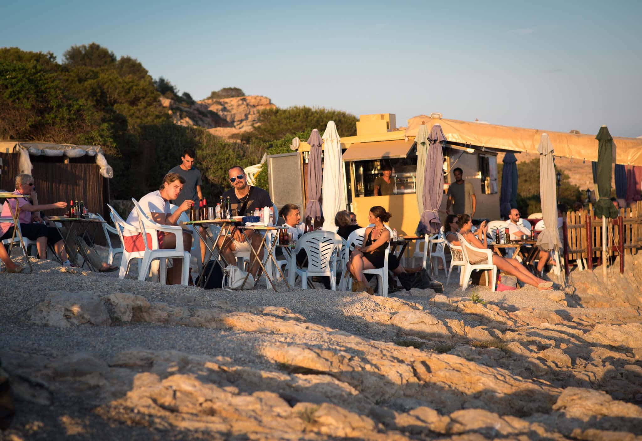 Ibiza Fish Shack Restaurant Talamanca Bay