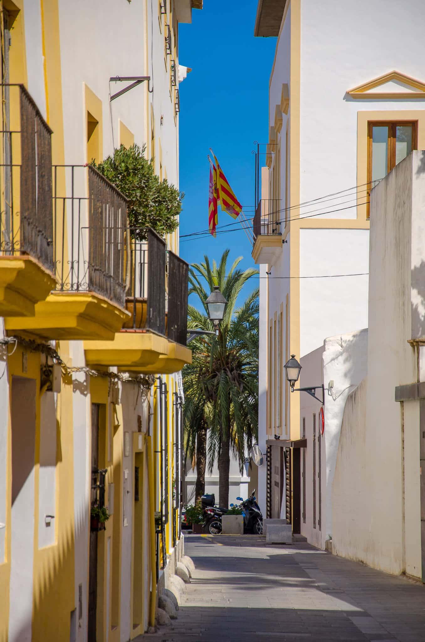 Ibiza Town Pittoresque Street