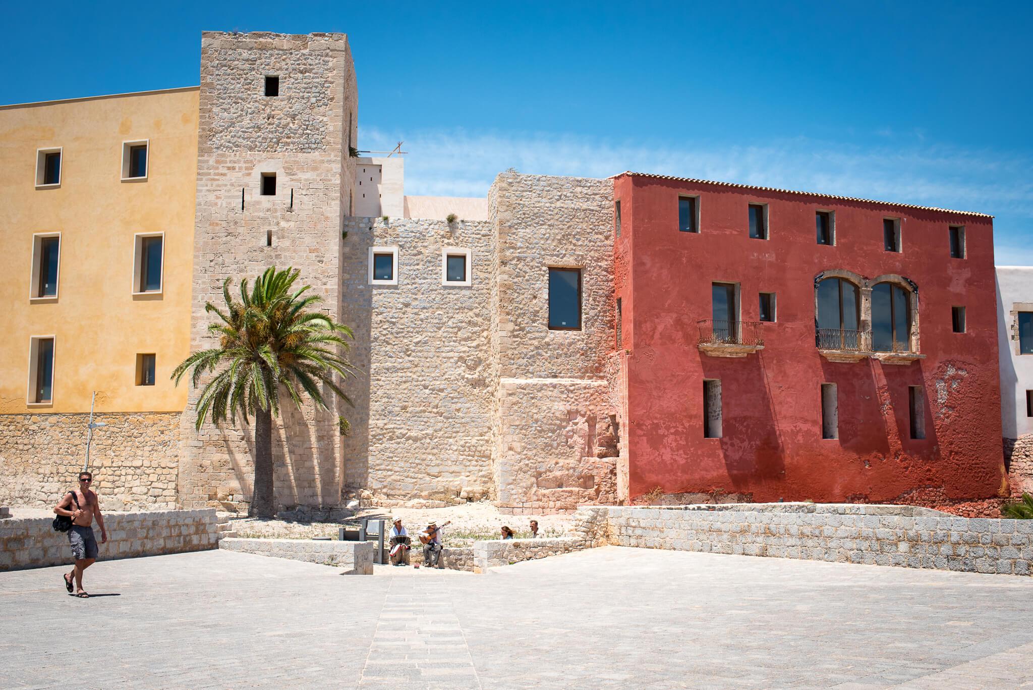Ibiza Town Dalt Vila Brickstone Houses