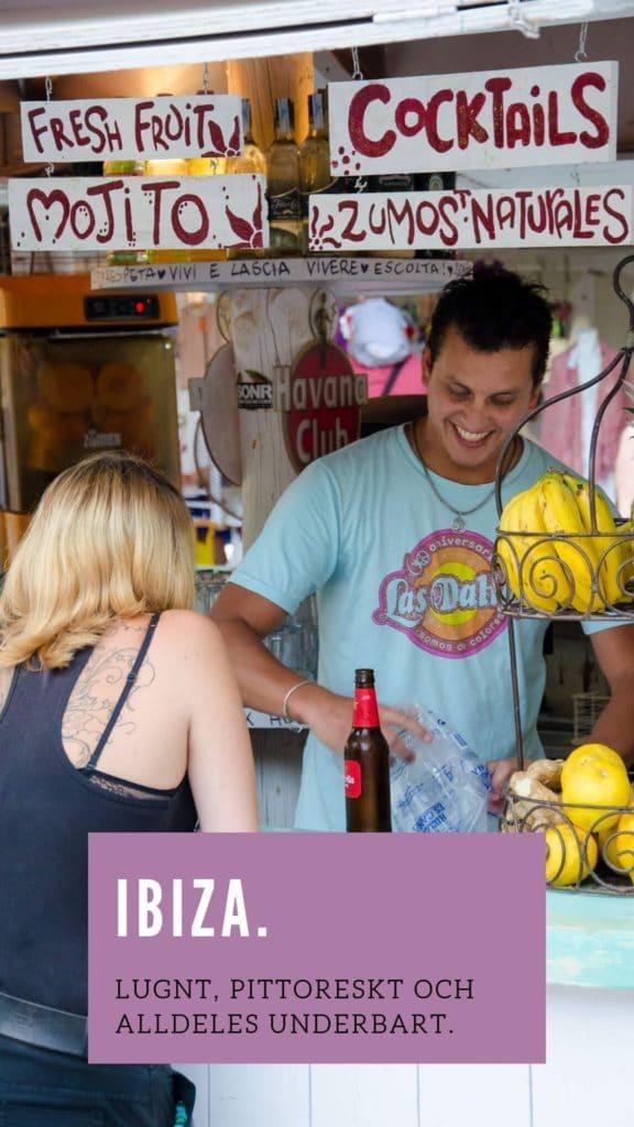 Ibiza Las Dalias Hippie Market Cocktails