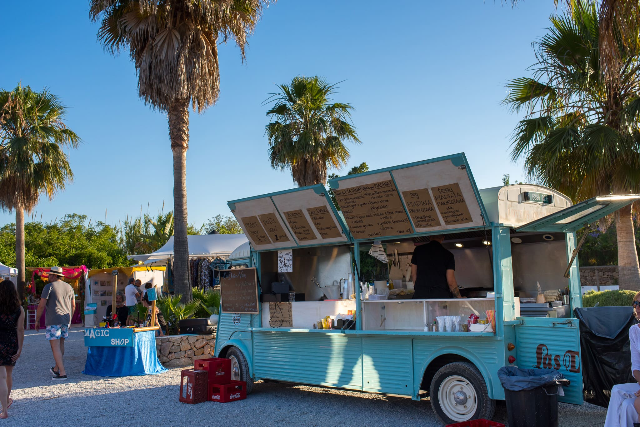 Ibiza Las Dalias Hippe Market Bar