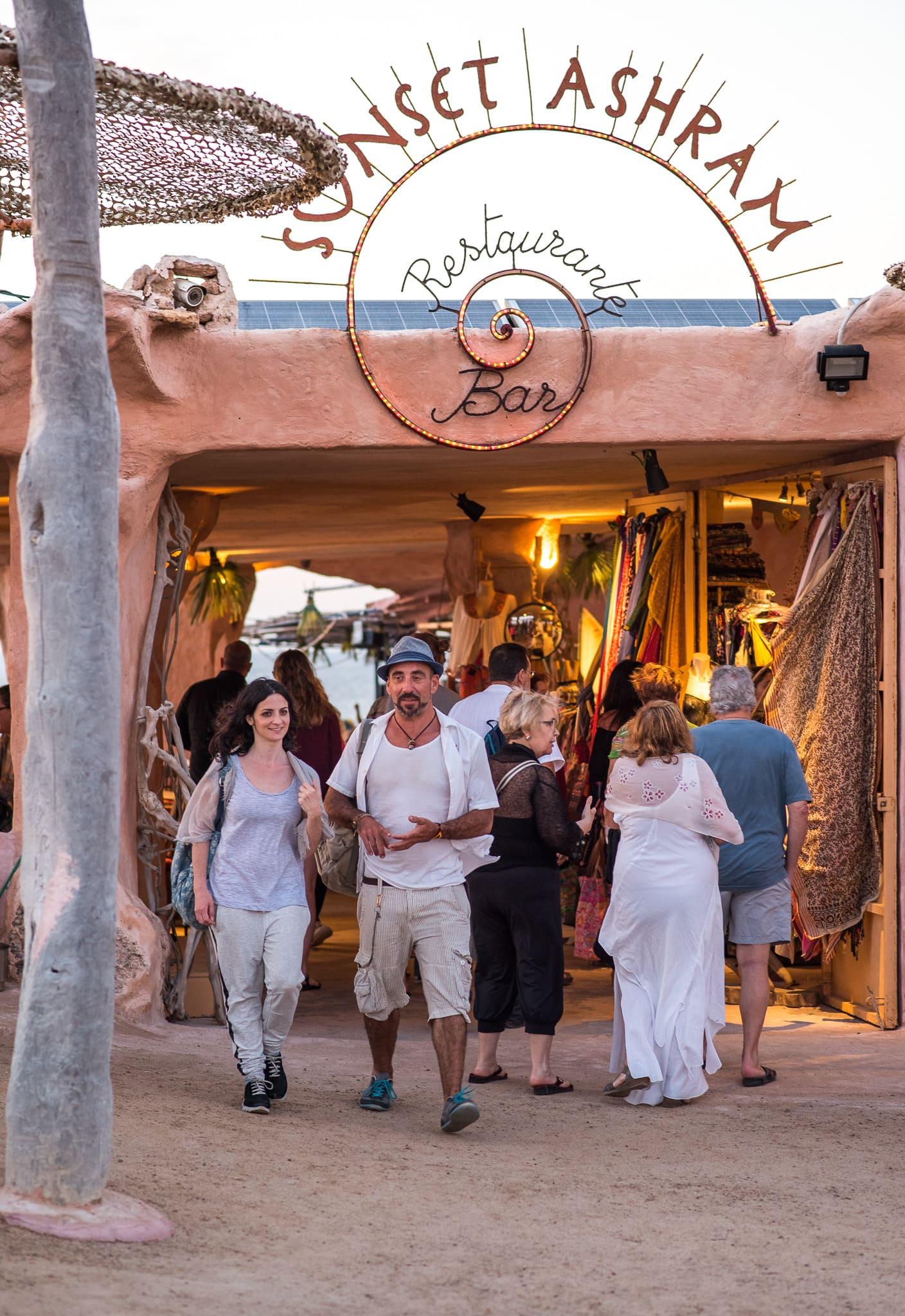 Sunset Ashram Cala Conta Ibiza Restaurant